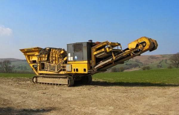 mesin stone crusher