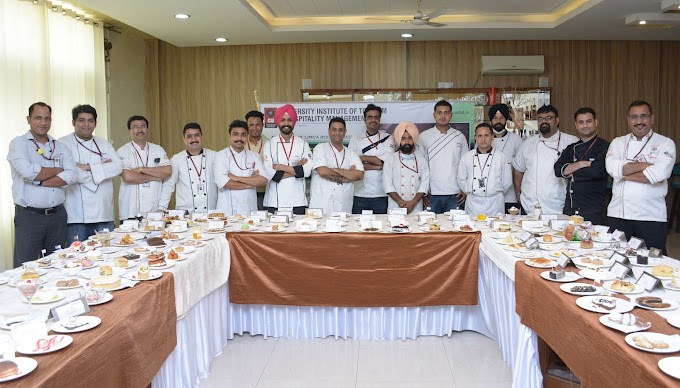 Chandigarh University attempts Limca Book of Records for preparing desserts of 195 countries