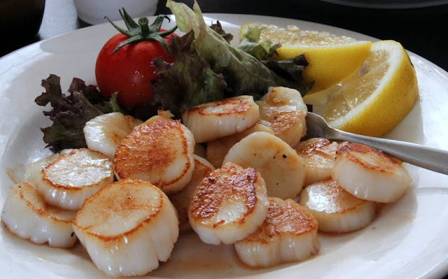Hervey Bay scallops