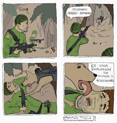 perro bomba benjamin vilella