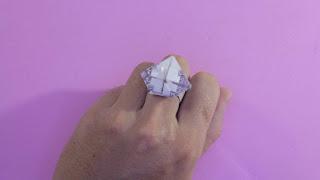 hướng dẫn cách gấp chiếc nhẫn bằng tiền giấy