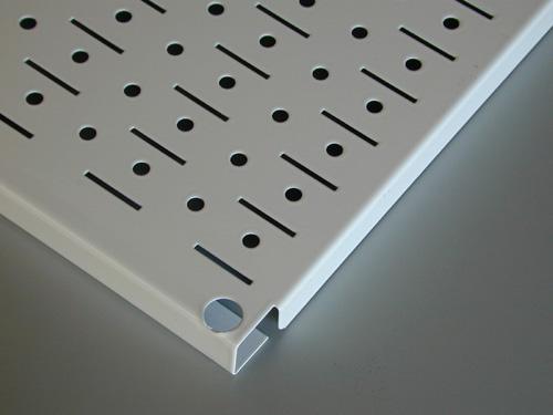 peg board edge