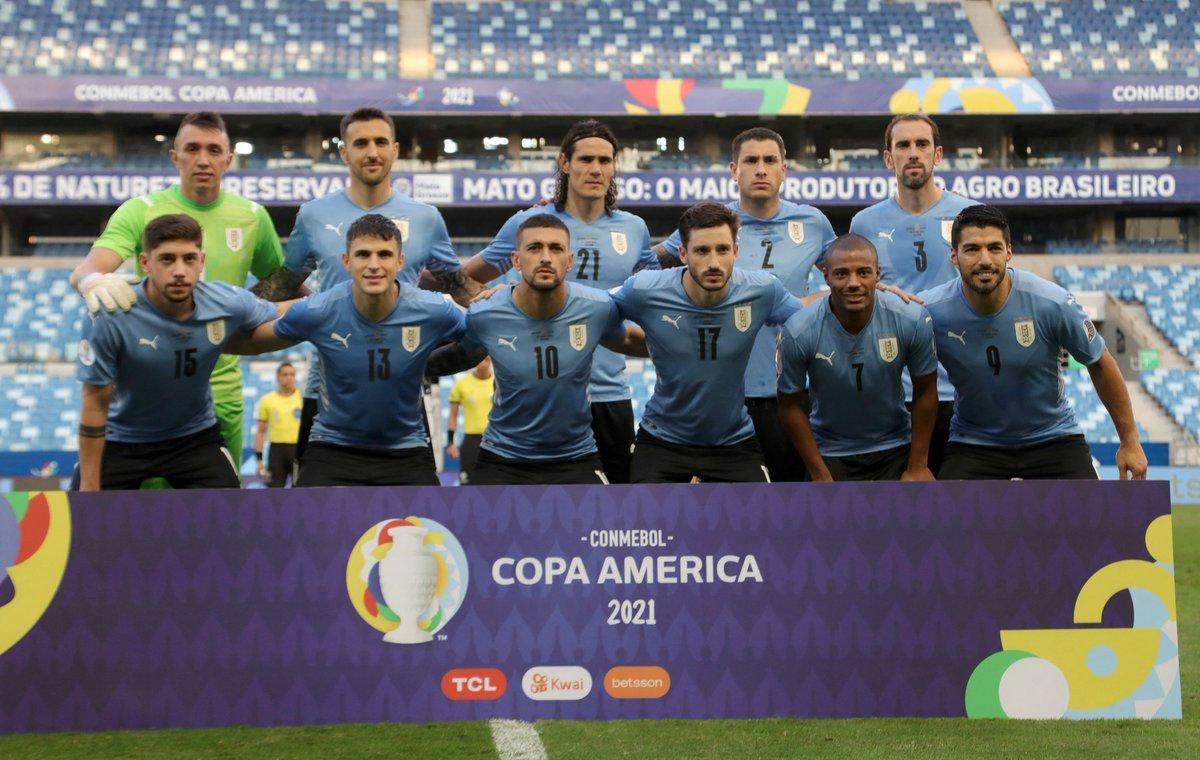 Formación de Uruguay ante Chile, Copa América 2021, 21 de junio