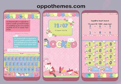 Sanrio Omanjuu Mix Theme For Oppo & Realme