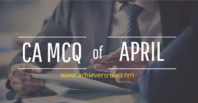 Monthly Current Affairs MCQ - April 2018 PDF