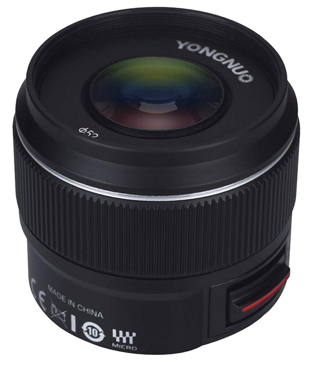 Yongnuo 42.5mm f/1.7 MFT