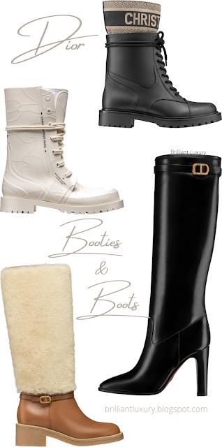 Dior boot collection #brilliantluxury