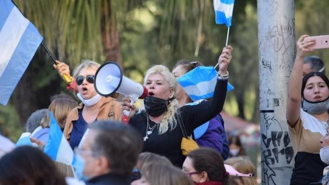 Algunos dirigentes de Juntos por el Cambio fueron a la marcha y otros pidieron no manifestar
