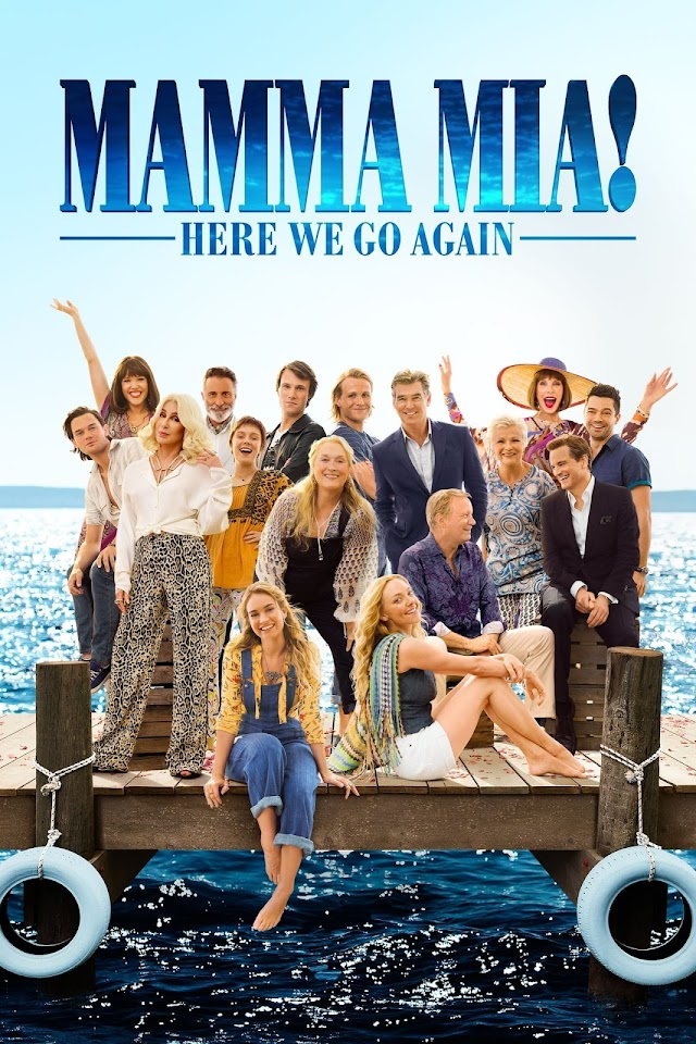 Mamma Mia Here We Go Again 2018 x264 1080p BluRay Esub DD 5.1 AC3 English Hindi THE GOPI SAHI