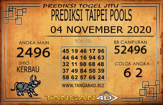PREDIKSI TOGEL TAIPEI TANGAN4D 04 NOVEMBER 2020