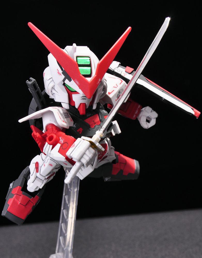 GUNDAM GUY SD Gundam EXSTANDARD Gundam Astray Red Frame
