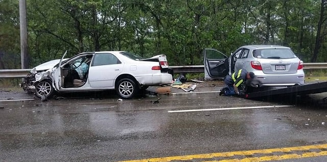 tips after highway car accident auto crash
