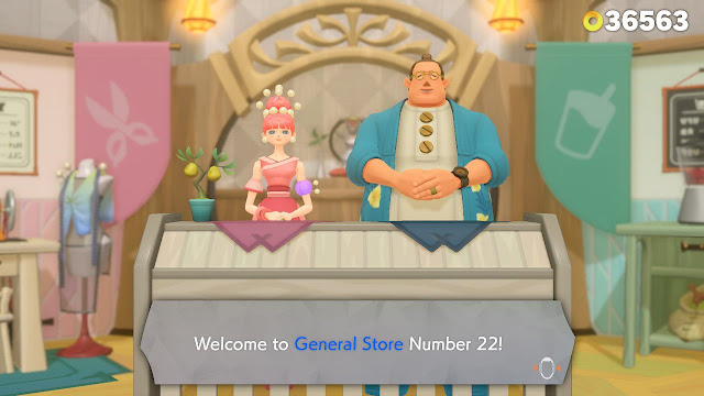 Ring Fit Adventure General Store Number 22 in World 26
