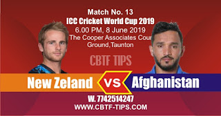 World Cup 2019 Match Prediction Tips by Experts Afg vs NZ