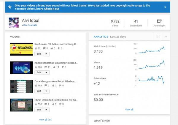 Cara Mendapatkan Uang Rupiah dari Youtube - [Vlogger]