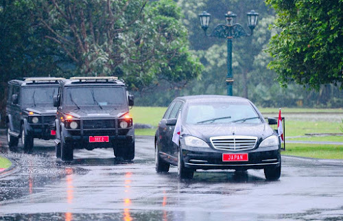 Perdana Menteri Jepang Mengaku Senang Dapat Mengunjungi Indonesia, Negara Besar di ASEAN