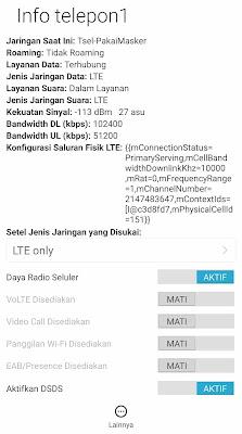 Cara mengatasi jaringan 4G HP Xiomi tidak terdeteksi