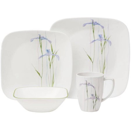 Head over to JcPenney and grab (2) Sets of this Corelle Shadow Iris 16-pc. Dinnerware Set for $48.99 total + score free ship when you use promo code ...  sc 1 st  qpanion & Hot* $24.49 WYB 2 Corelle Shadow Iris 16-pc. Dinnerware Set + Free ...
