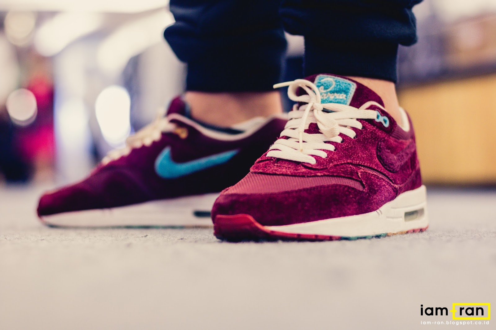 IAM RAN: ON FEET : In.Dhika Nike Air Max 1 x Patta X Parra