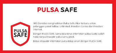 Apa yang dimaksud dengan kuota safe atau pulsa safe indosat Pulsa Safe adalah dan bagaimana cara menggunakan pulsa safe Indosat Im3 Ooredoo