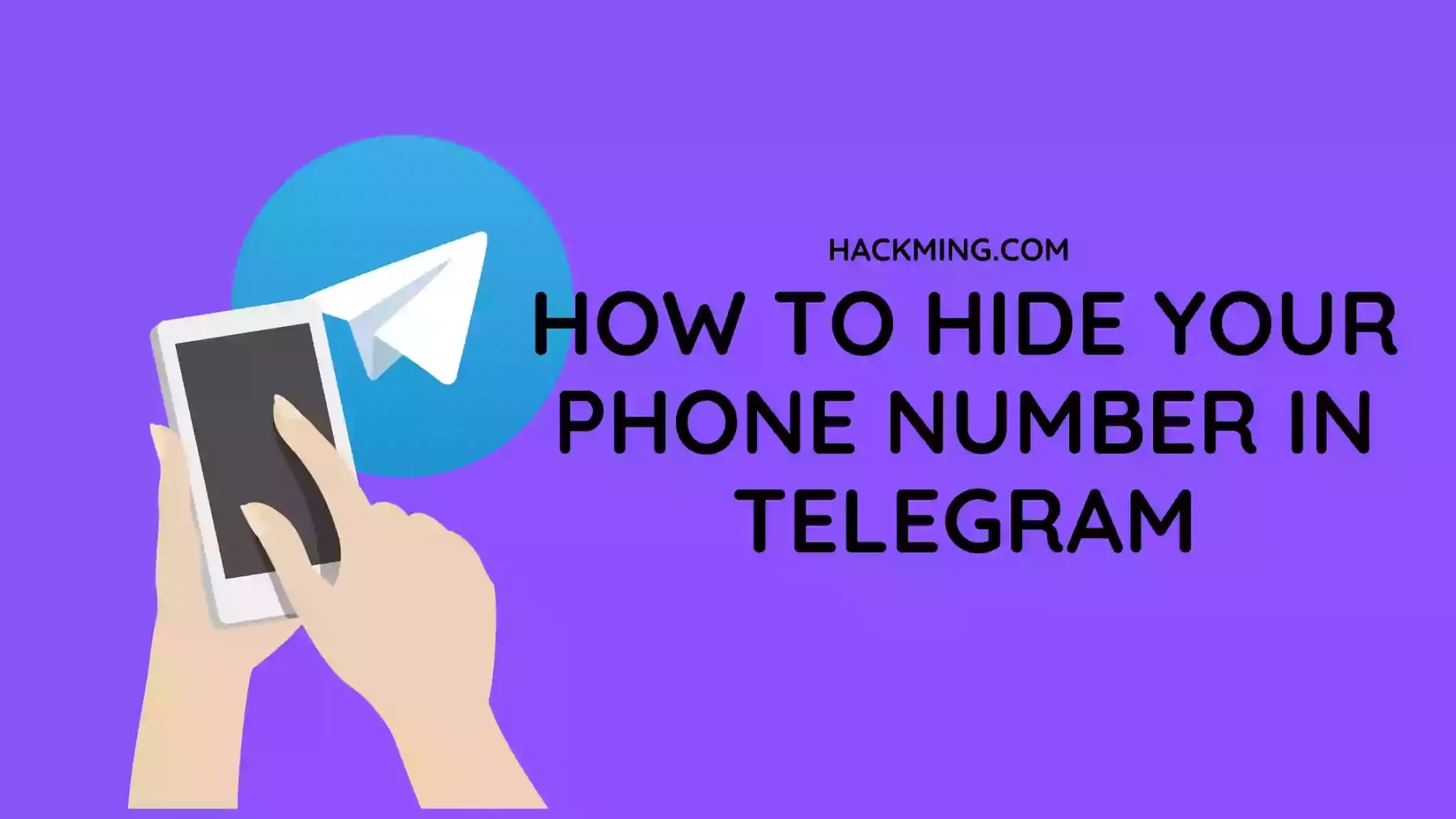How to hide your Phone Number in Telegram