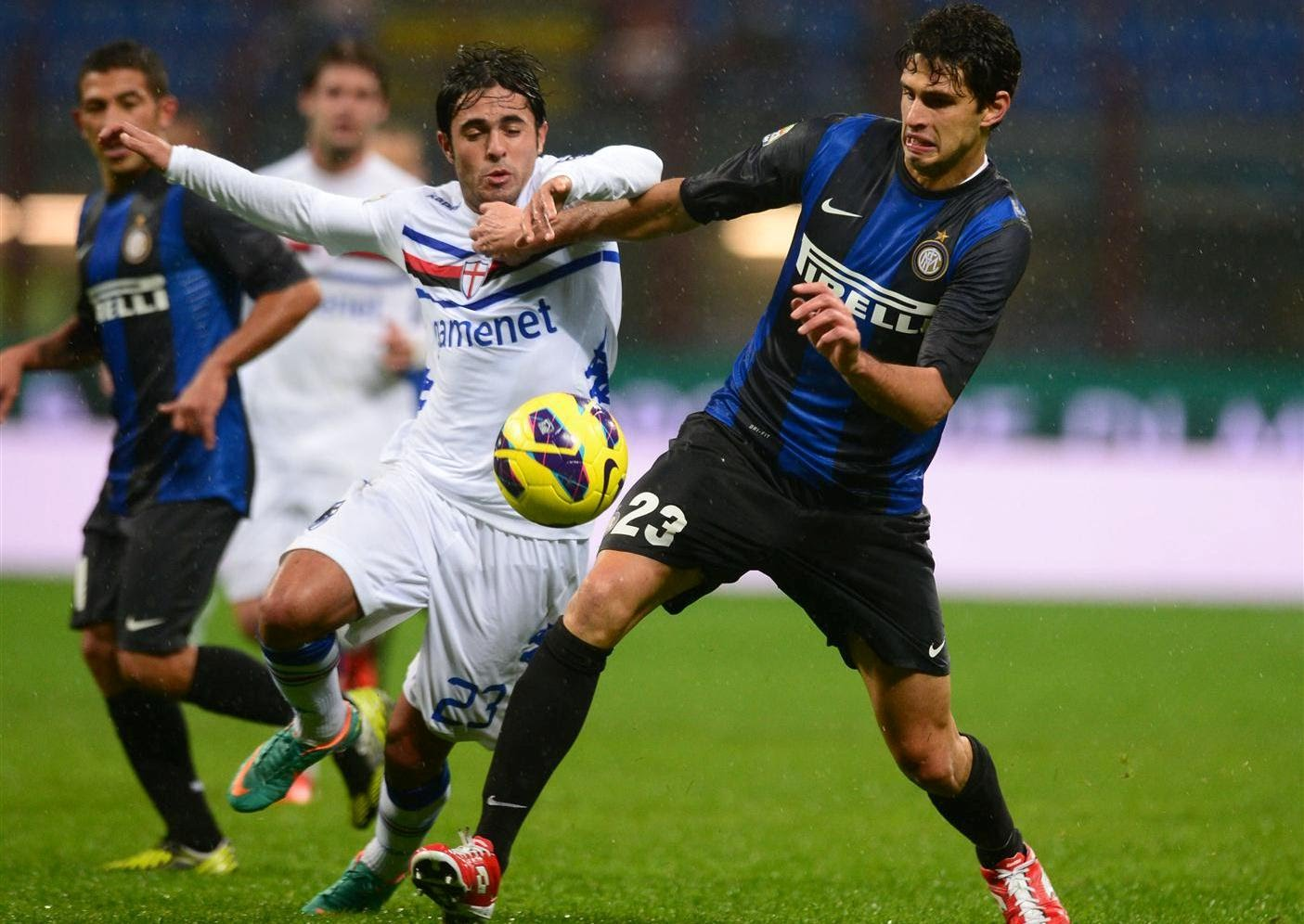 نتيجة مباراة انتر ميلان وسامبدوريا بتاريخ 28-09-2019 الدوري الايطالي