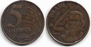 5 centavos, 1998