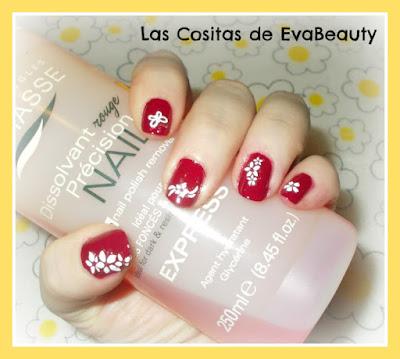 Manicura Masglo y decoracion pegatinas uñas nails nailart