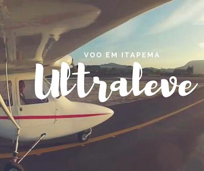 voo de ultraleve em itapema