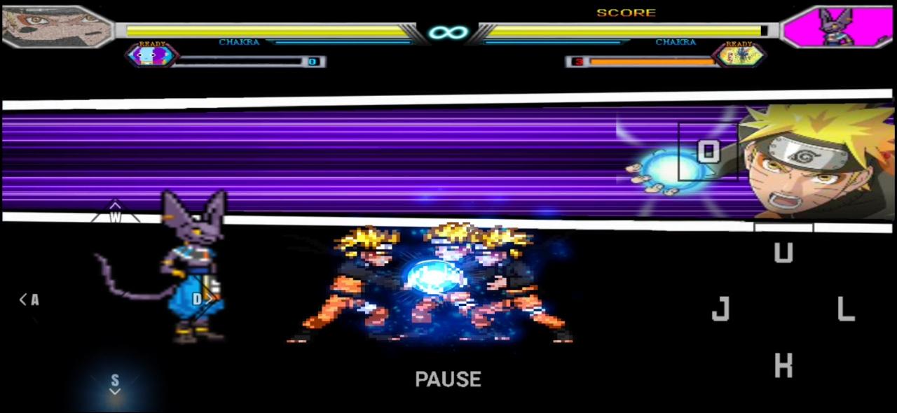 Anime Super Battle Stars Mugen Apk For Android