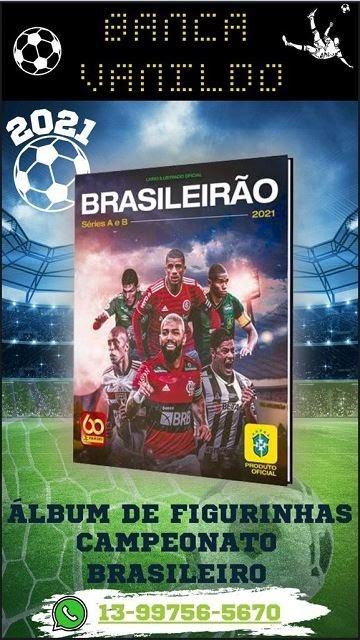 Compre o Álbum de Figurinhas do Campeonato Brasileiro na Banca Vanildo