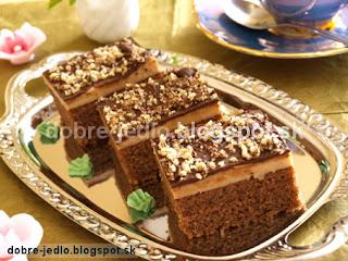 Orechový koláč - recepty