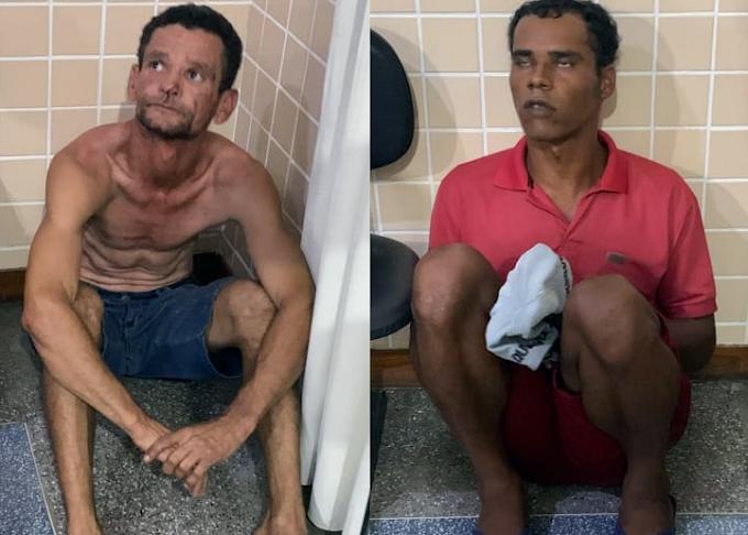 Dois homens suspeitos de envolvimento na morte de casal em Pé de Serra são detidos