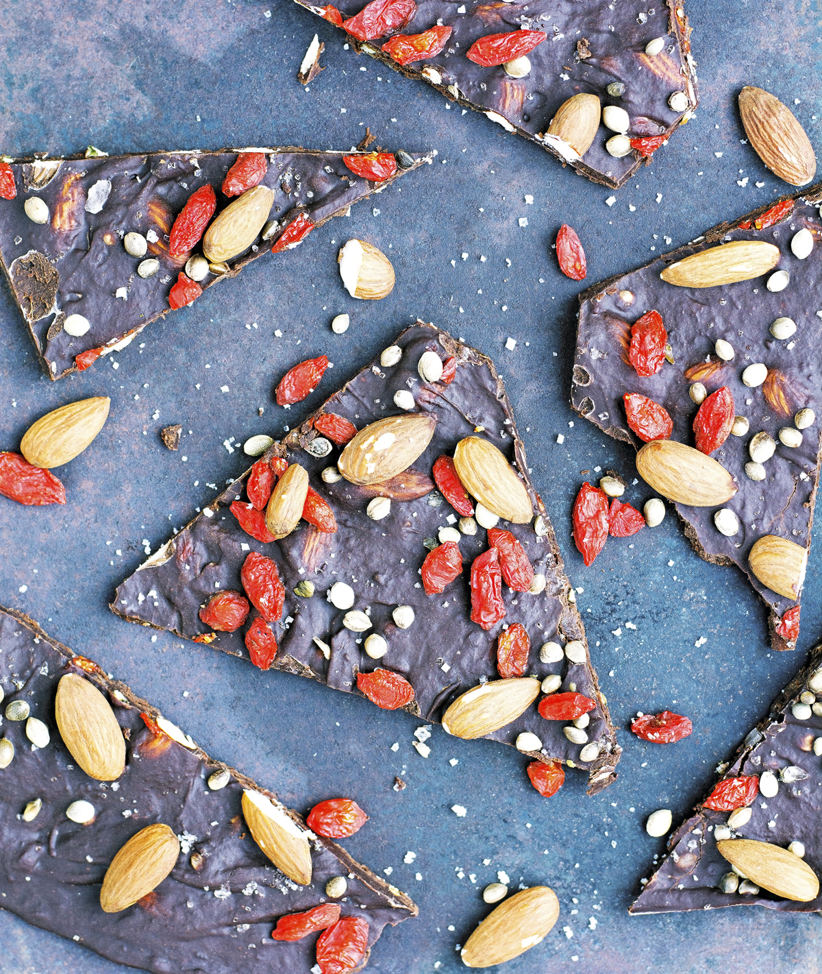 Loaded Superfood Chocolate Bark