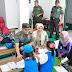 Dandim Blitar Bersama Ketua Persit Kodim Blitar Beri Bantuan Alat Bermain Ke TK Kartika Jaya