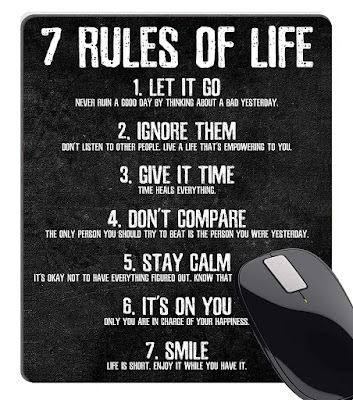 good inspiration quotes 7 rules of life