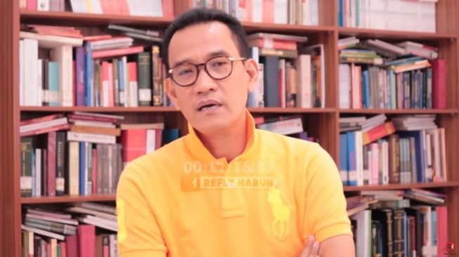 Sindiran Ruhut Dibalas Refly Harun: Masa Sarjana Hukum Asal Bunyi