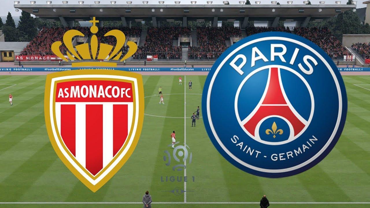 بث مباشر مباراة موناكو وباريس سان جيرمان اليوم