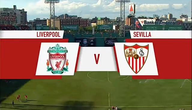 Sevilla Beats Liverpool 2-1 in Fenway Park friendly.