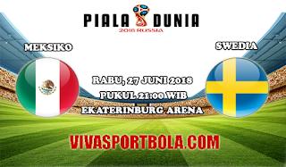 Prediksi Bola Meksiko vs Swedia 27 Juni 2018