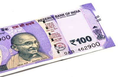 100rs note