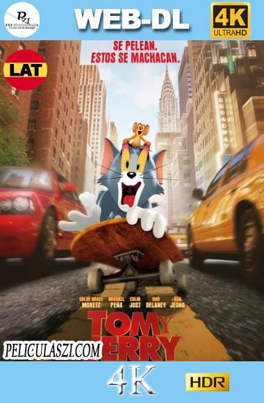 Tom & Jerry (2021) Ultra HD HMAX WEB-DL 4K HDR Dual-Latino