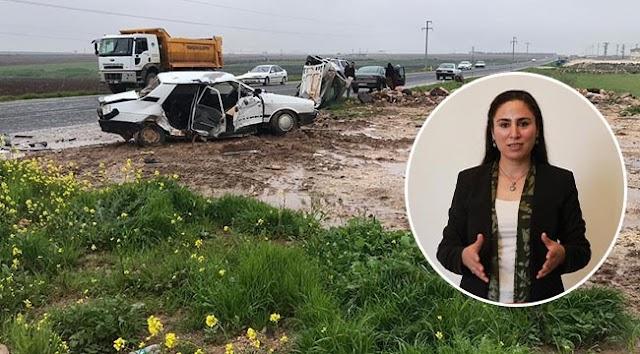 Milletvekili Ayşe Sürücü trafik kazası yaptı