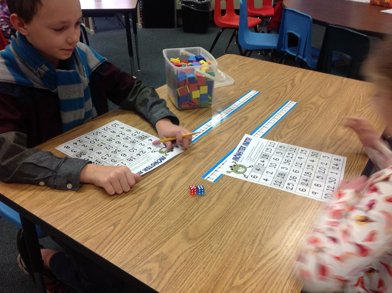 another helping of math please multiplication monsters knowing their basic facts will help them as they get into more complex problems if they know 8x7 56 they will know 800x70 56 000