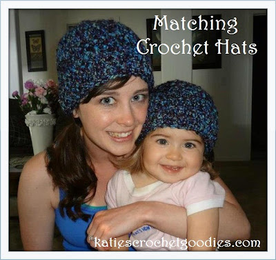 matching baby and adult crochet hat