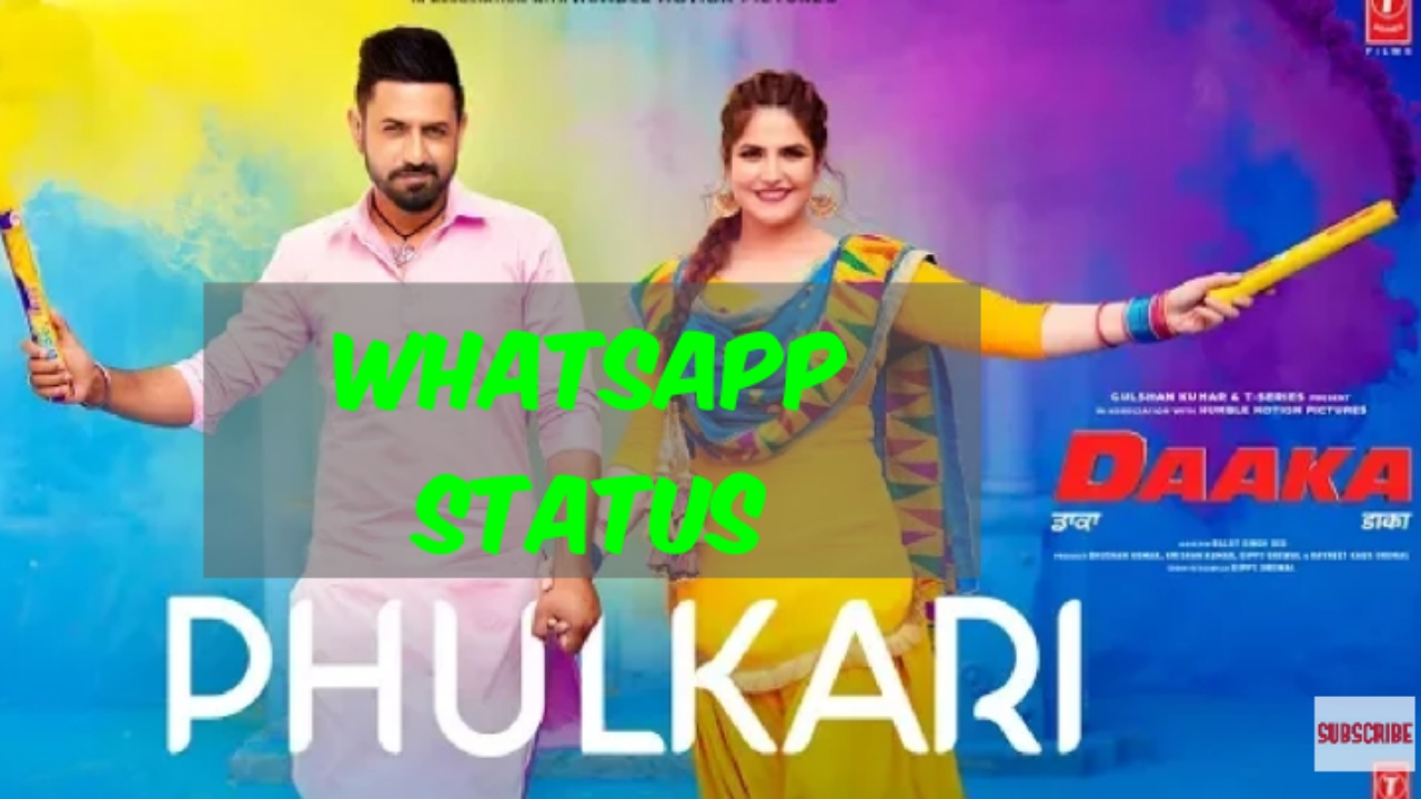 Phulkari Gippy Grewal Song Whatsapp Status Video Daaka