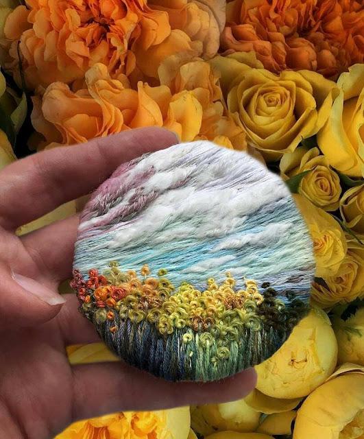 haftowane krajobrazy