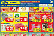 Katalog Promo Hypermart Weekday Terbaru 21 - 23 Januari 2020