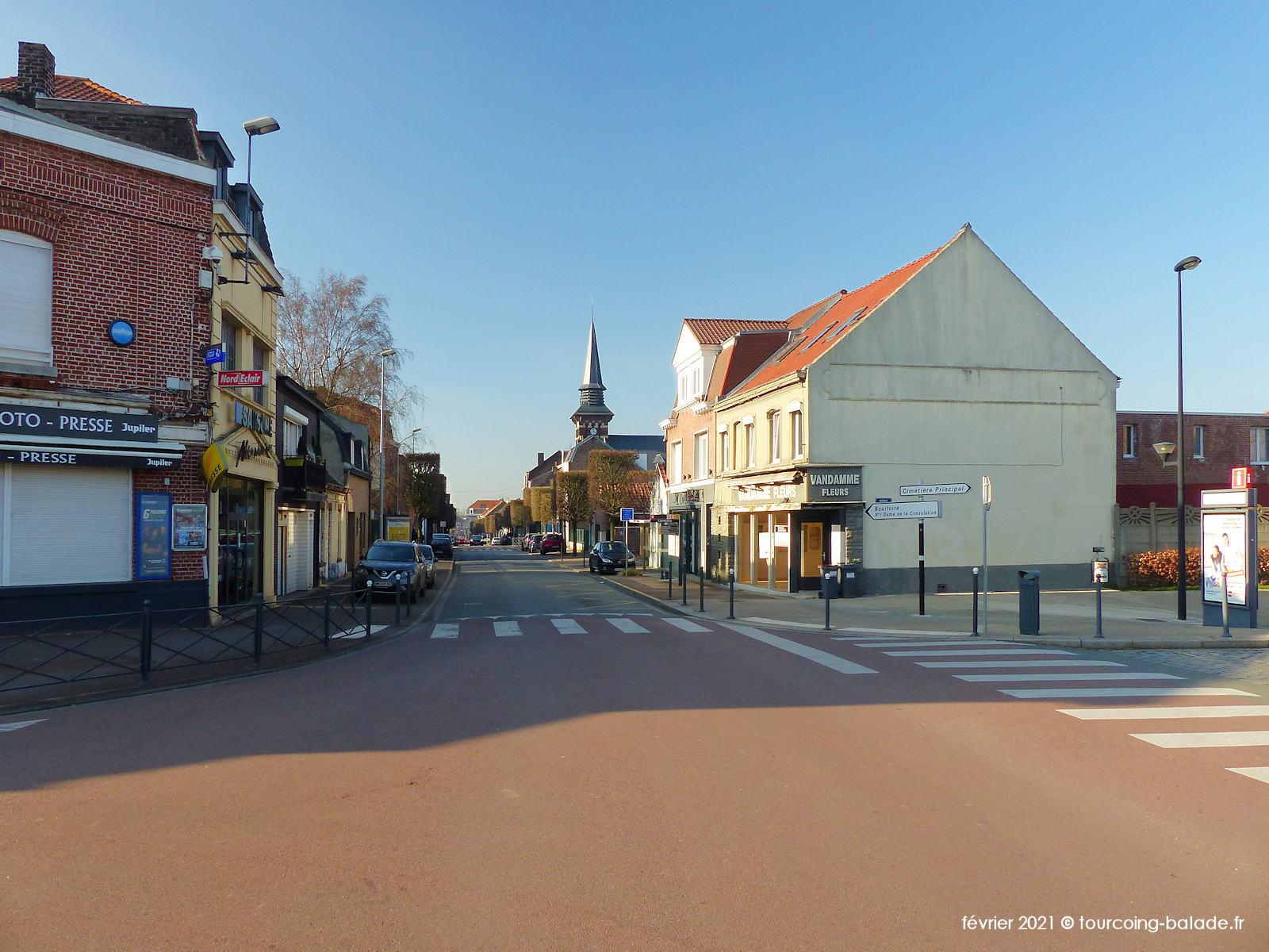 Rue du Pont de Neuville, Tourcoing 2021