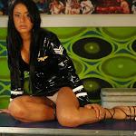 Andrea Rincon, Selena Spice Galeria 5 : Vestido De Latex Negro Foto 54